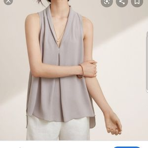 Aritzia Wilfred nuit sleeveless blouse medium